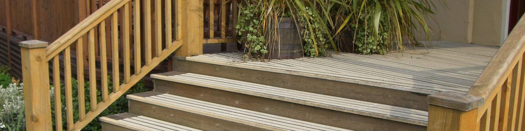 Anti-slip Decking Solutions