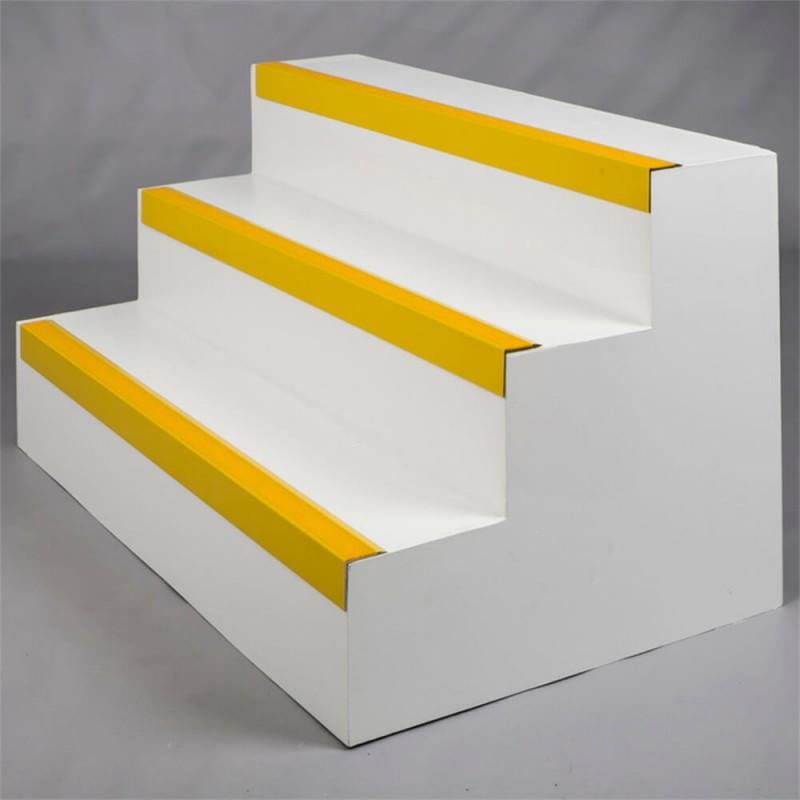 Aluminium and GRP Anti Slip Stair Nosing