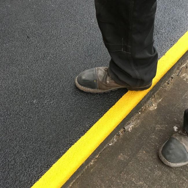 Heavy Duty GRP Anti Slip Landing Cover