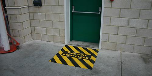 Line, Walkway & Hazard Marking