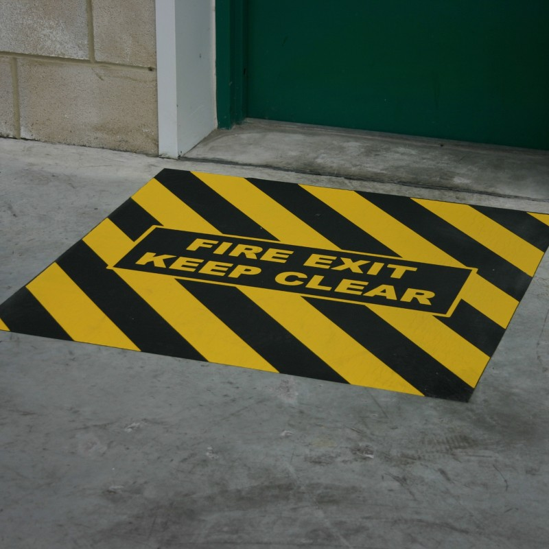Fire Exit Marker