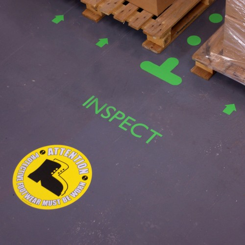Floor markers & Safety Signs